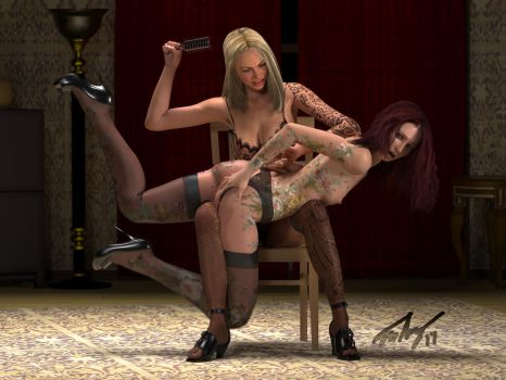 The Spanking by ManFromAbora