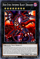 Red-Eyes Inferno Blast Dragon by AlanMac95