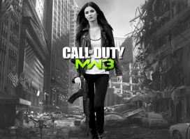 Victoria Justice MW3 Wallpaper by Encore2012