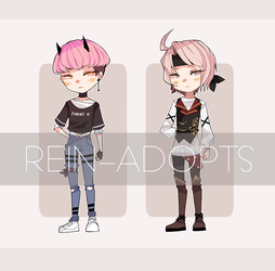 MALE ADOPTS [CLOSED] by rein-adopts