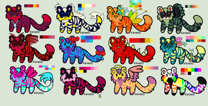 Little tiger Adopts (open) by catstuckintree