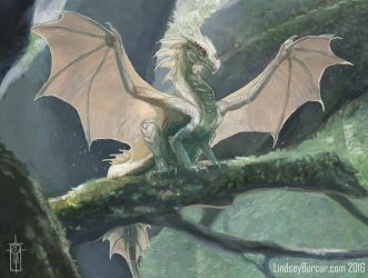 The Littlest Dragon - Fragments Book Now Available by LindseyBurcar