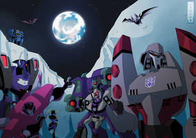 TFN: Decepticon poster by LyricaBelachium