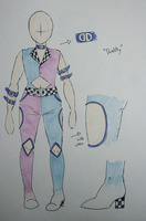 Outfit Design- Duality by TaiyakiPress