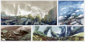 Watercolor Sketches003 by SebastianWagner