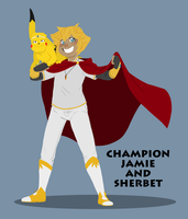 Champion Jamie and Sherbet by ZannyHyper