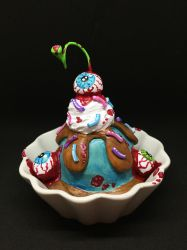 Zomcream Sundae in Dish by spulunk