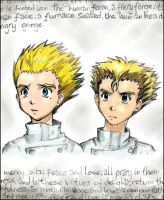 Vash and Knives Coloured by Vilnix