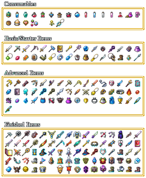 League of Legends Items by Dr-Shellos