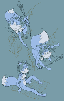 the boot :Krystal sketches: by edtropolis