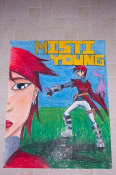 Misti Young Poster by Kare-San