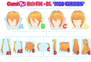 Hair-F01 - DL (MQO VERSION) by AKIO-NOIR