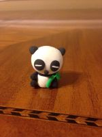 Clay Panda by Forestfire2