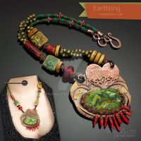 Earthling Necklace by popnicute