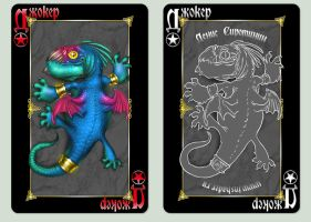 Playing cards 'Animagique'. Jokers by Inshader