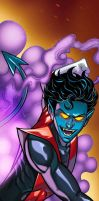 Nightcrawler Panel Art by RichBernatovech