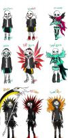 Versions Of Undervirus - Sans by Jeyawue