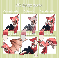 OC design meme by TheRaspberryFox