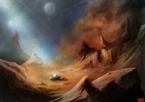 Dust Storm by kovah