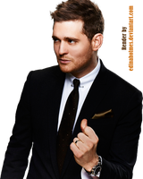 Michael Buble Render 2 by edinaholmes