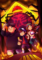 Gravity Falls - To the Ends of the Earth by coretanuzi