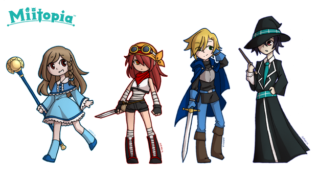 {Redraw} First Crew by Sapphire-M