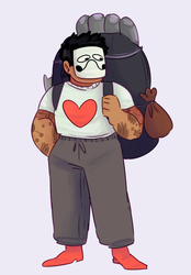 Zacharie by KatsLoveSalmon