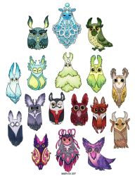Owls 2017 part 2 by Myrntai