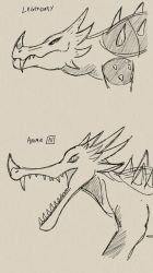Anguirus Heads by Missingno-54