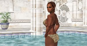 Sheva-ENTICING POOL POSE by blw7920