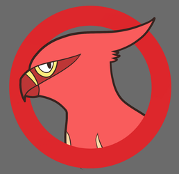 Shiny Talonflame by RejectedSG
