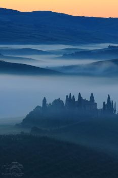 Val d'Orcia, sotto Podere Belvedere by HoremWeb