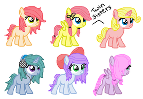 Filly Adoptables! Closed! by MintMuffins