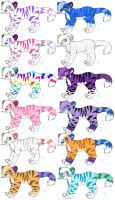 Adoptables by LionKingGirl22