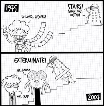 the dalek makeover by suguspiranha