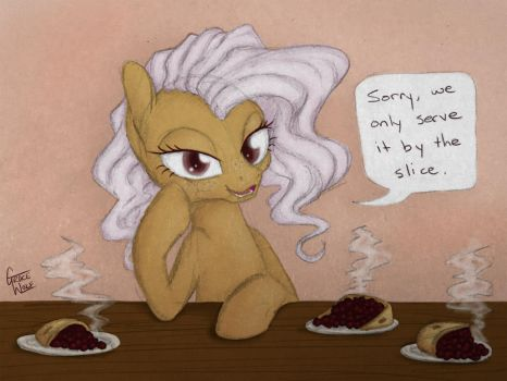 By the slice by gracewolf