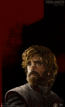 Tyrion Lannister | Game of Thrones Digital paint by Jan-ilu