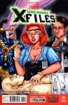 X-Files sketch cover by gb2k