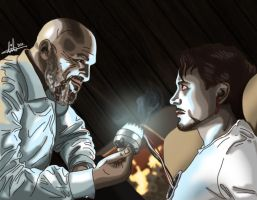Stealing Tony Stark's Heart by lilis-gallery