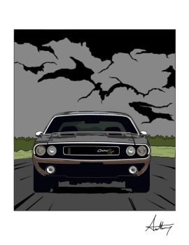 I love Muscle cars by Anthos92