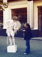 living statue by IreneL
