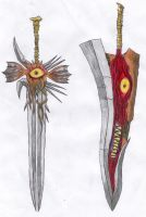 Soul Edge And Soul Calibur by FWV