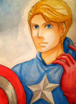 Captain America by kidokaproject