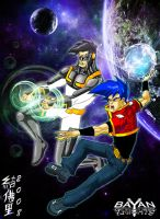 BK JUNIOR AND UNSTOPPABLE by WOLVERINE76