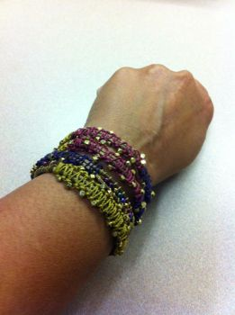 Gypsy wrap bracelet by stepbrown
