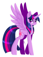 Twilight Sparkle Movie Style by InspiredPixels