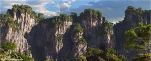 Cliff Study prt. 1 by 3DLandscapeArtist