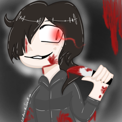 I'm a poor excuse for a gore artist ~request~ by Ech0-draws