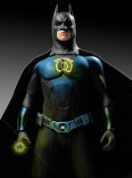 sinestro corps batman by megamike75