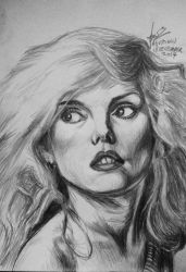 Debbie 'Blondie' Harry by guusebumps